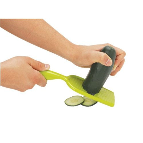 Joie Hand-Held Mandoline Slicer with Guard for Right or Left Handed