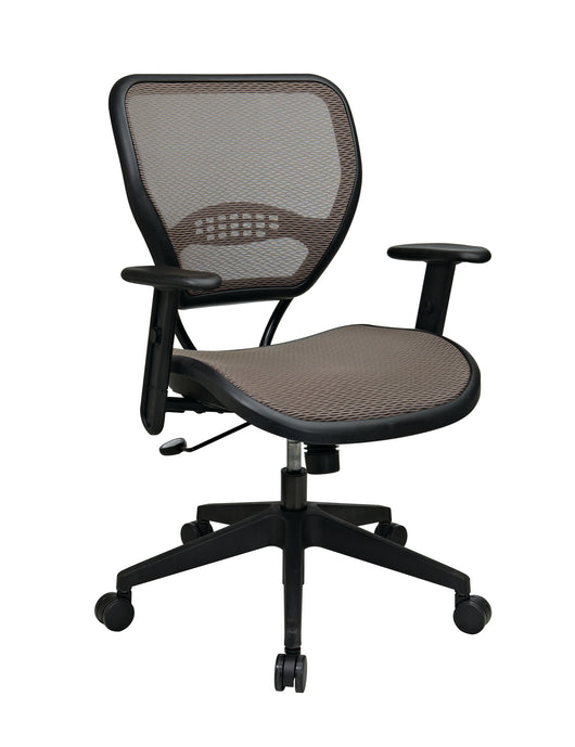 Latte AirGrid Seat and Back Deluxe Task Chair