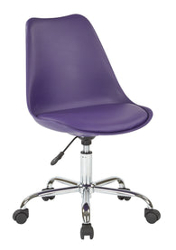 Ave Six EMS26-512-osp Emerson Student Office Chair, Purple