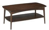 Copenhagen Coffee Table in Walnut Finish