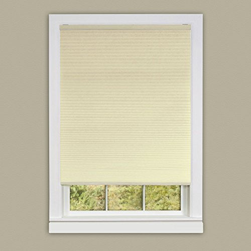 Achim Home Furnishings Honeycomb Pleated Cordless Window Shade, 39 by 64-Inch