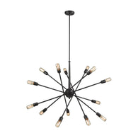 Delphine 14-Light Chandelier in Oil Rubbed Bronze