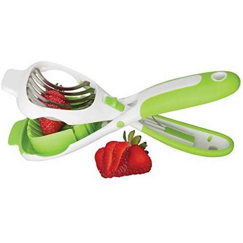 The World's Greatest Handy Dandy Super Slicer for Bananas and Strawberries