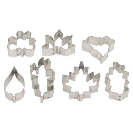 Mrs. Anderson's Baking Cookie Cutter Set, Leaves