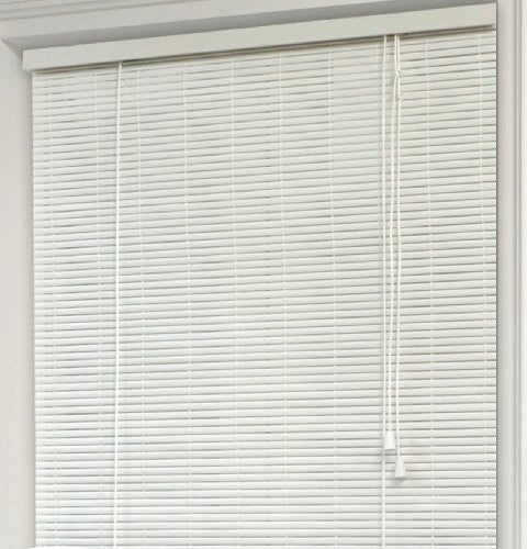 Achim Home Furnishings Eclipse 1/4-Inch Oval Roll Up Shade, 30-Inch by 72-Inch, White