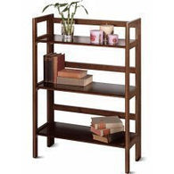 3-Tier Folding and Stackable Shelf, Wide