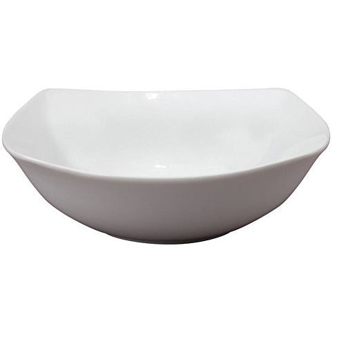 Hic Nt137 Porcelain Square Bowl, 6-3/4