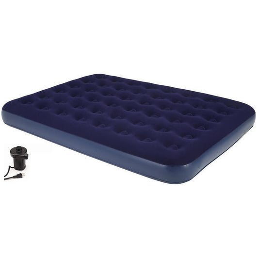 Second Avenue Collection Full Air Mattress with Electric Air Pump