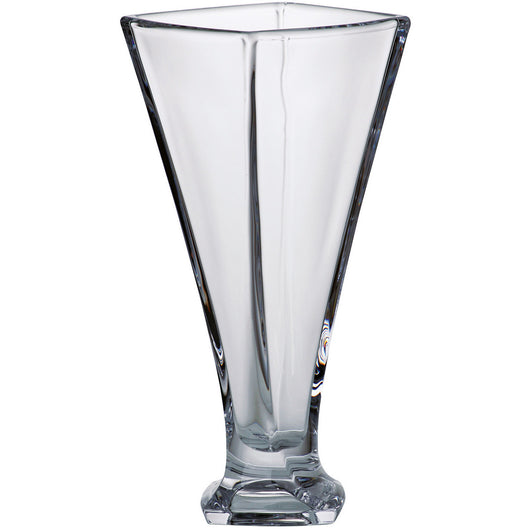 Majestic Gifts Crystalline Glass Square Vase, 11