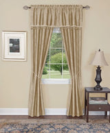 Achim Home Furnishings Harrison Blackout Window Curtain in a Bag Full Blackou