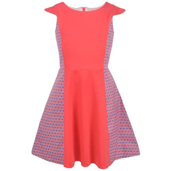 "Dorissa Big Girls' ""Geometric Eye"" Dress"