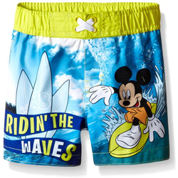 Disney Boys Mickey Swim Trunk