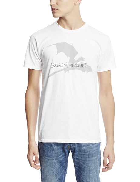 HBO'S Game of Thrones Men's Flying Dragon T-Shirt