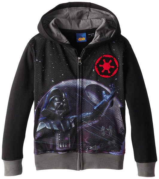 Star Wars Vapor Little Boys' Sublimated Zip-up Hoodie