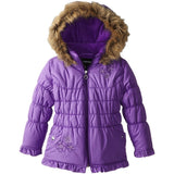 Rothschild Little Girls' Ruched Coat