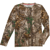 Women's long sleeve camo camouflage shirt
