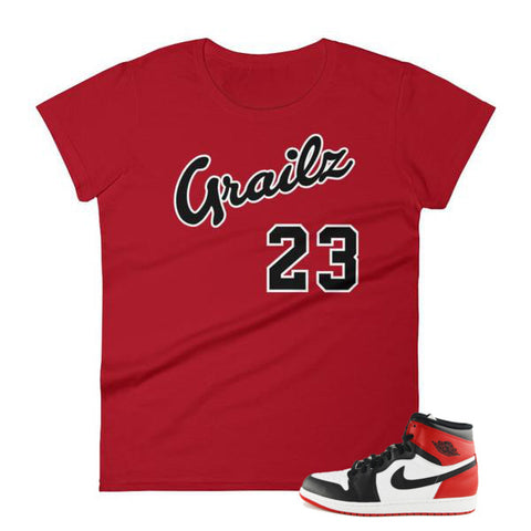 female shirts to match jordans