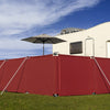 9 Metre Windbreak Including 2 Gates