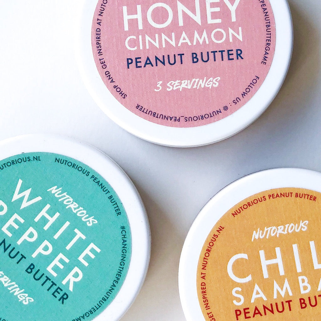3-pack peanut butter travel kit