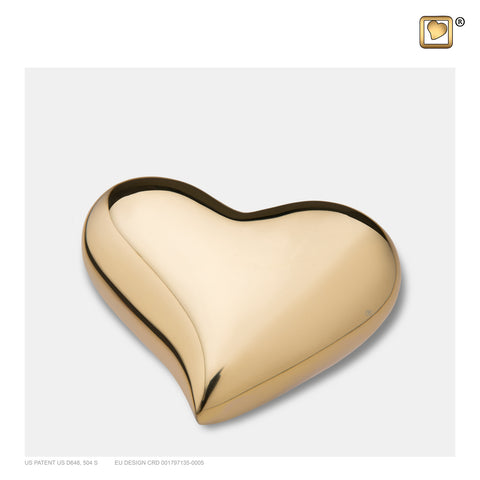 Bright Gold (Keepsake Heart) - K602
