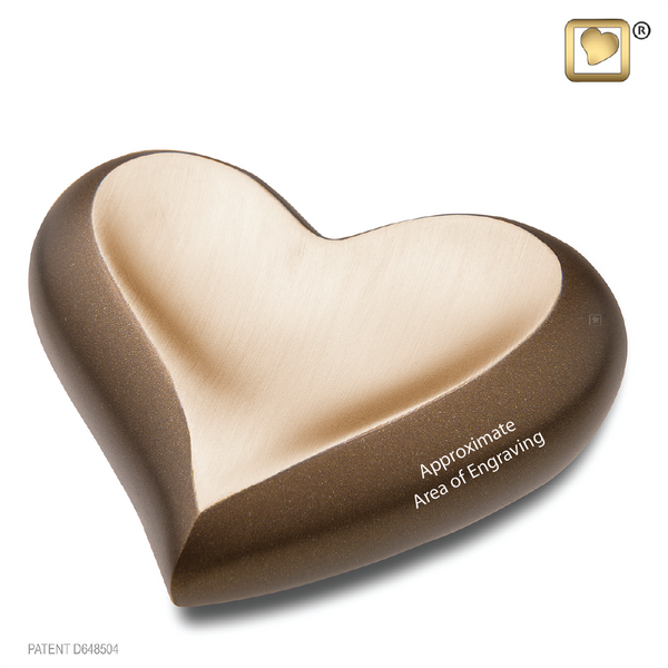 Chestnut/Auburn Gold (Keepsake Heart) - K613