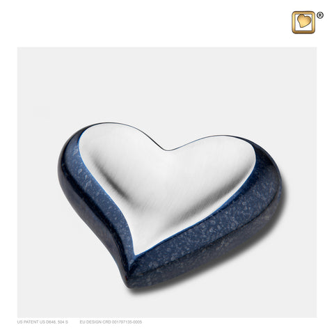 Speckled Indigo (Keepsake Heart) - K614