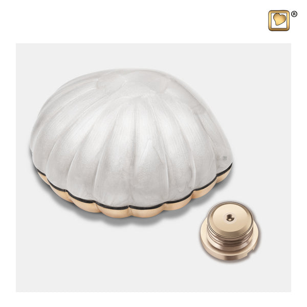 Pearl White (Keepsake Clam) - K641