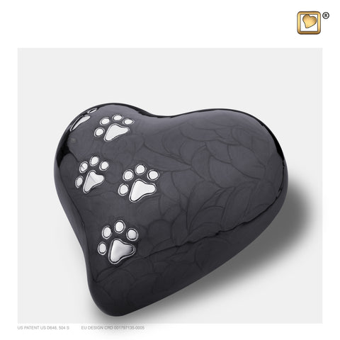 LovePaws™ Pearlescent Midnight (Medium Heart) - P640M