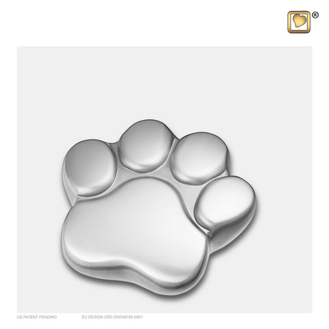 Brushed Pewter (Keepsake Paw) - P672K