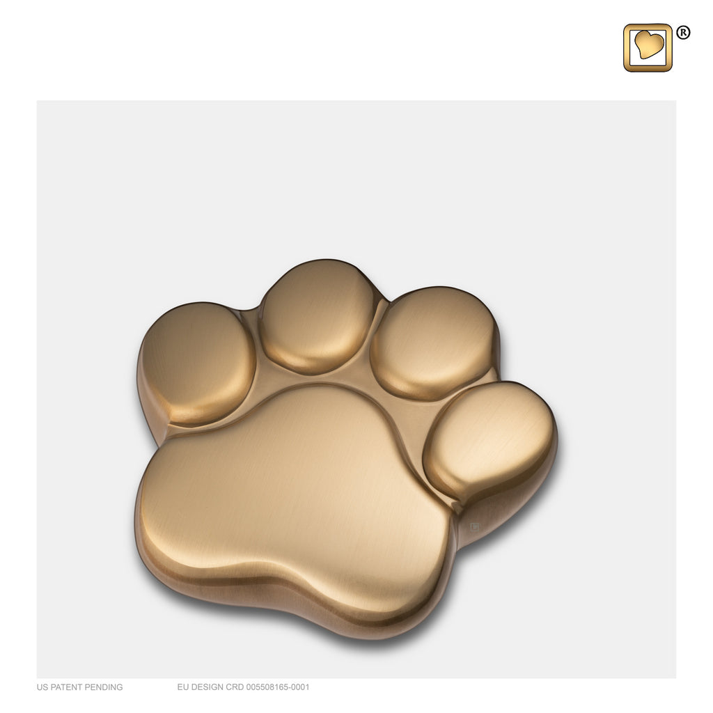 Brushed Gold (Keepsake Paw) - P673K