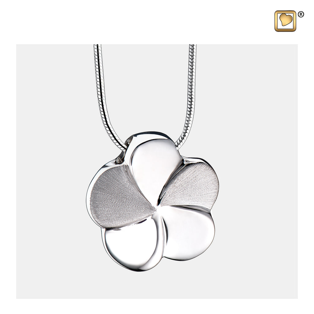 Pendant: Bloom - Rhodium Plated Two Tone - PD1070
