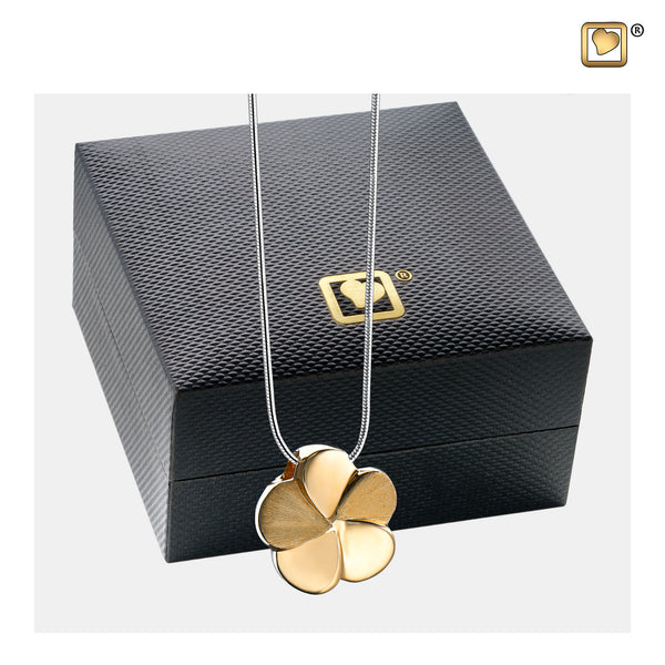 Pendant: Bloom - Gold Vermeil Two Tone - PD1071