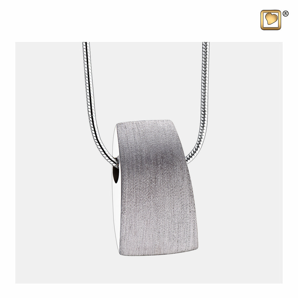Pendant: Tribute - Rhodium Plated Two Tone - PD1120