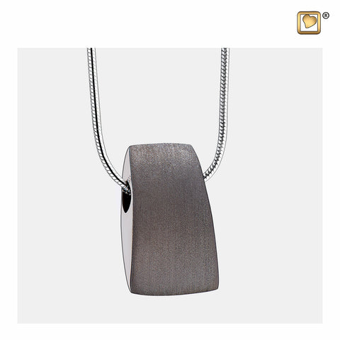 Pendant: Tribute - Ruthenium Plated Two Tone - PD1121