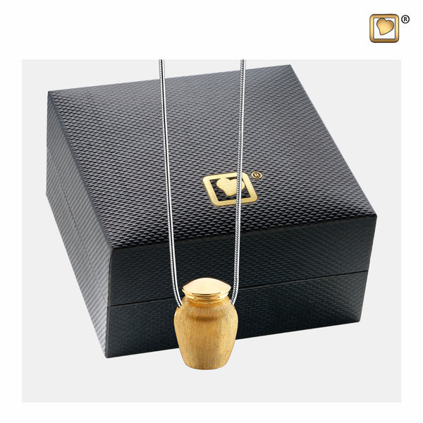 Pendant: Urn - Gold Vermeil Two Tone - PD1141