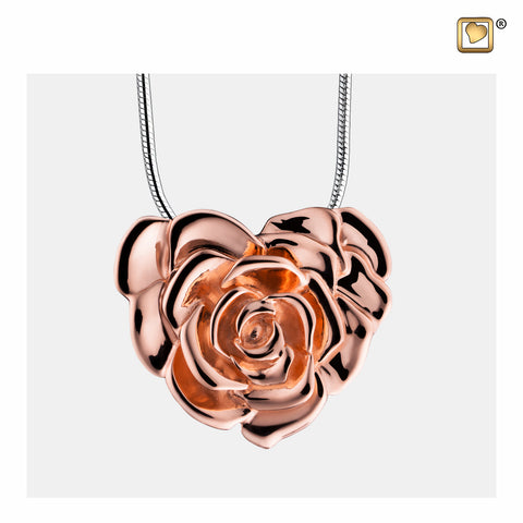 Pendant: LoveRose - Rose Gold Vermeil - PD1550