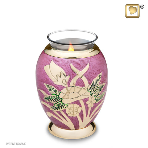 Majestic Rose (Tealight Urn) - T220