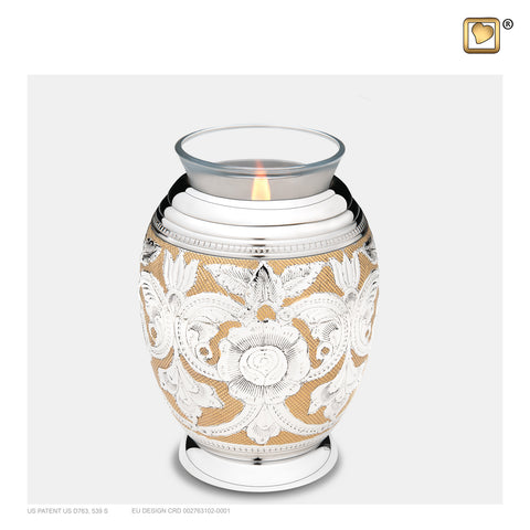 Monarch Jali (Tealight Urn) - T250