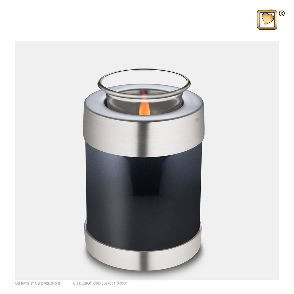 Midnight (Tealight Urn) - T650