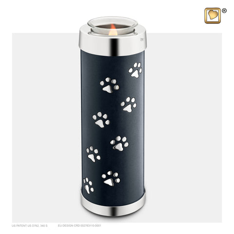 Pet Midnight (Tall Tealight Urn) - T656