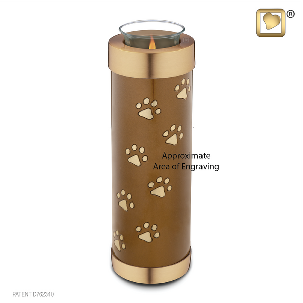 Pet Bronze (Tall Tealight Urn) - T657