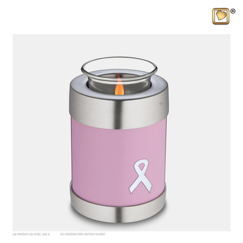 Awareness Pink (Tealight Urn) - T900