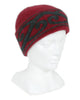 Aroha Beanie in Raspberry, 100% New Zealand Made Merino Wool & Possum Fur Knitwear