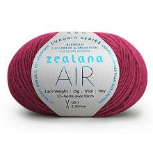 Load image into Gallery viewer, Zealana Air LACE weight - 2ply Cashmere/Possum Fur/Silk