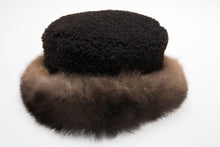 Load image into Gallery viewer, Fashion Fur Trim Lambskin Hat