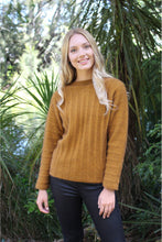 Load image into Gallery viewer, Lothlorian Groove Sweater in Merino Wool and Possum Fur