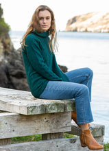 Load image into Gallery viewer, Noble Wilde Basket Weave Sweater in Merino Wool and Possum Fur