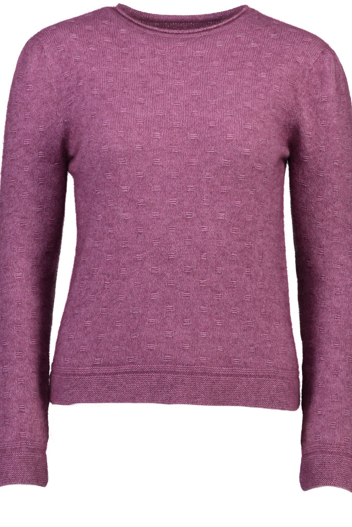 New Zealand made Possum Merino Knitwear in Heather