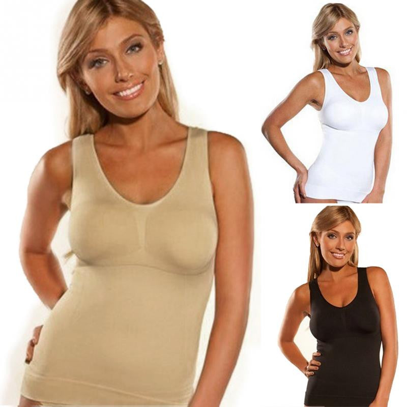 Comfortable Wireless Cami Tank Top SALE