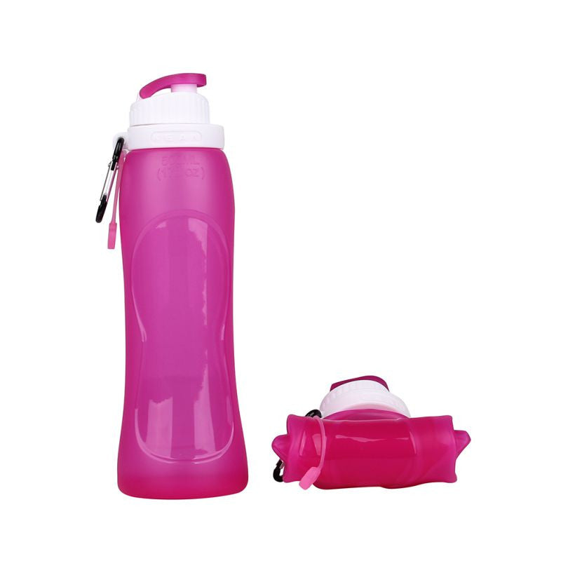 Travel Sport Flexible Collapsible Water Bottles